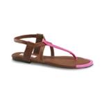 Aeropostale Womens Neon Gladiator Sandals