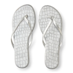 Aeropostale Womens Croc Flip Flop Sandals