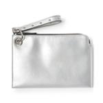 Aeropostale Womens Metallic Wristlet Wallet