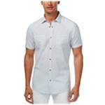 I-N-C Mens Dual Pocket Button Up Shirt
