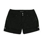 I-N-C Womens Cuffed Casual Walking Shorts