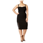 mblm Womens Ponte Sheath Dress