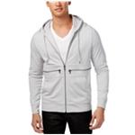 I-N-C Mens Zip Pocket Hoodie Sweatshirt
