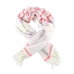 Aeropostale Womens Rough Striped Scarf
