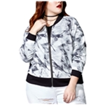 mblm Womens Mesh Bomber Jacket