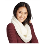 Aeropostale Womens Soft Knit Infinity Scarf Wrap