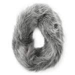 Aeropostale Womens Faux Fur Infinity Scarf Wrap