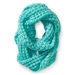 Aeropostale Womens Knit Infinty Infinity Scarf Wrap