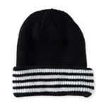 Aeropostale Mens Striped Beanie Hat