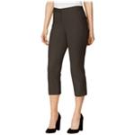 Alfani Womens Comfort Waist Casual Cropped Pants
