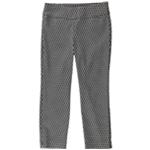 Alfani Womens Jacquard Casual Cropped Pants