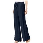 I-N-C Womens Lace-Trim Casual Wide Leg Pants
