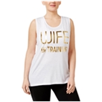 Ideology Womens Wife In Training Tank Top