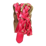 Aeropostale Womens Neon Braided Belt