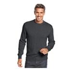 John Ashford Mens Solid Pullover Sweater