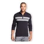 John Ashford Mens Chest Stripe Pullover Sweater