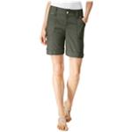 I-N-C Womens Utility Casual Bermuda Shorts