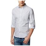 Tommy Hilfiger Mens Honu Stripe Button Up Shirt