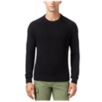 Tommy Hilfiger Mens Textured Pique Knit Sweater