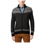 Tommy Hilfiger Mens Patterned Knit Sweater
