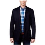Tommy Hilfiger Mens Textured Two Button Blazer Jacket