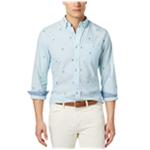 Tommy Hilfiger Mens Critter Button Up Shirt