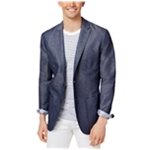 Tommy Hilfiger Mens Chambray Sport Coat