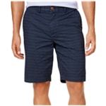 Tommy Hilfiger Mens Micro Floral Casual Chino Shorts