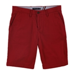 Tommy Hilfiger Mens June Bug Flat Front Casual Chino Shorts