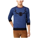 Tommy Hilfiger Mens Stag Crewneck Pullover Sweater