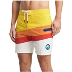 Tommy Hilfiger Mens Color Block Swim Bottom Board Shorts