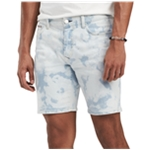 Tommy Hilfiger Mens Bleached Casual Denim Shorts