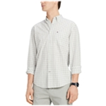 Tommy Hilfiger Mens Stall Checked Button Up Shirt