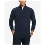 Tommy Hilfiger Mens Quarter Zip Sweatshirt