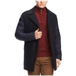 Tommy Hilfiger Mens Puffer Sleeve Pea Coat