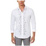 I-N-C Mens Beaded Paisley Button Up Shirt