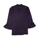 Alfani Womens Tie-Sleeve Cardigan Sweater