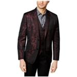 I-N-C Mens Jacquard Two Button Blazer Jacket
