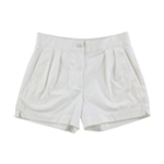 French Connection Womens Pleated Casual Walking Shorts