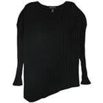 I-N-C Womens Asymmetrical Knit Sweater