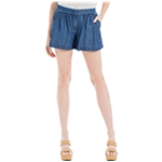 Max Edition Womens Solid Casual Denim Shorts