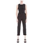 Max Studio London Womens Orianne Belted Jumpsuit