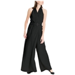 Max Studio London Womens Belted Jumpsuit