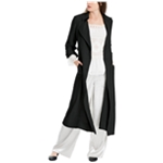 Max Studio London Womens Tie Sleeve Duster Jacket