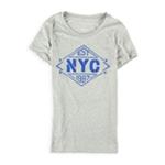 Aeropostale Womens EST NYC Embellished T-Shirt