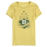 Aeropostale Womens Heathered BK NY Embellished T-Shirt