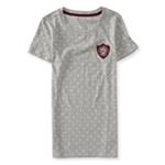 Aeropostale Womens Dotted Crest Embellished T-Shirt