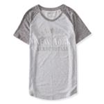 Aeropostale Womens New York Liberty Graphic T-Shirt