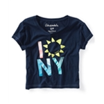 Aeropostale Womens Sunflower Graphic T-Shirt