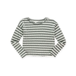 Aeropostale Womens Boxy Striped Pullover Sweater